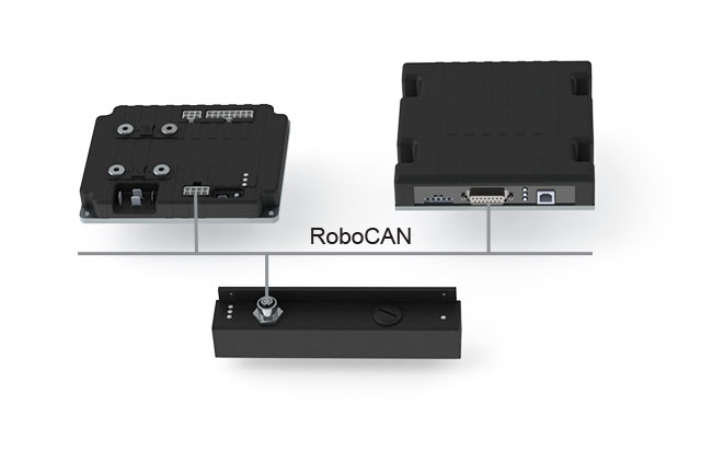 Communication between Roboteq Devices using RoboCAN