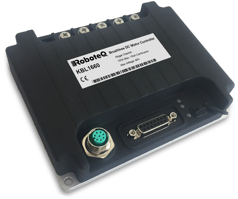 Medium Power Brushless DC Motor Controller