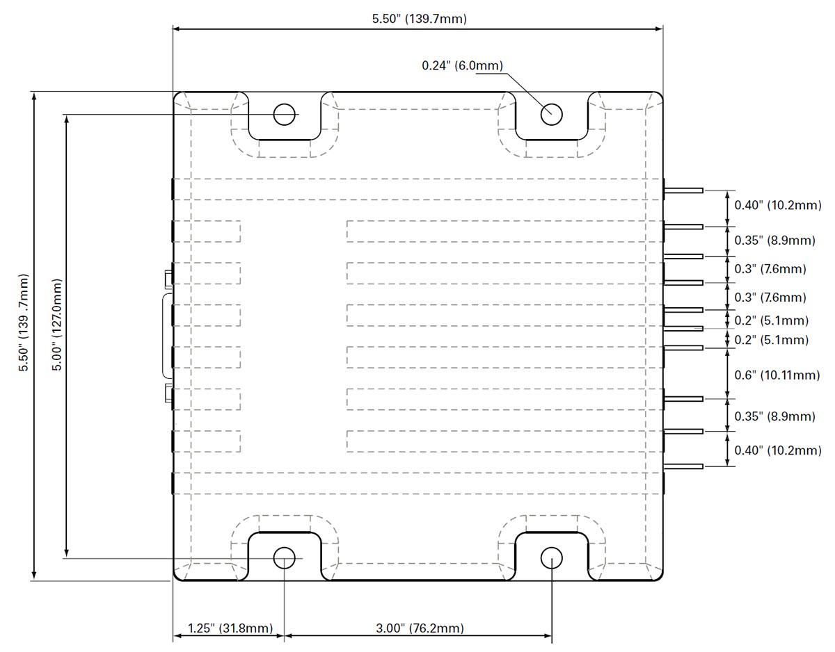 Brushed Dc Motor Controllers Mdc2460 Brush Controller Wiring Diagram Medium Power